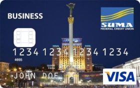 Image of SUMA FCU Visa Business Platinum Credit Card